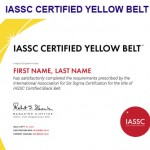 ENVISO lean six sigma yellow belt
